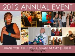 Annual event flyer