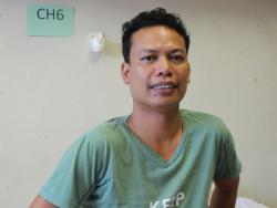 Abner Landayan, USAID contractor who received care at SBH