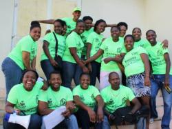 Community Health cholera vaccine team